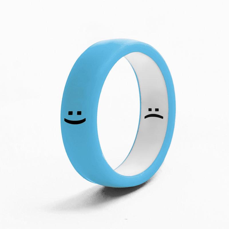 Flip Rings - Reversible Smile & Frown Ring