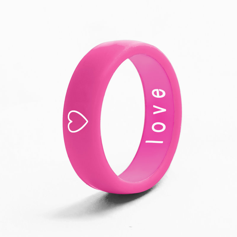 Flip Rings - Reversible Heart and Love Ring