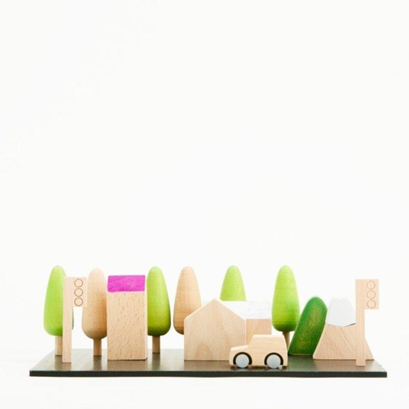 Kiko+ & gg Machi Tiny Wooden Town