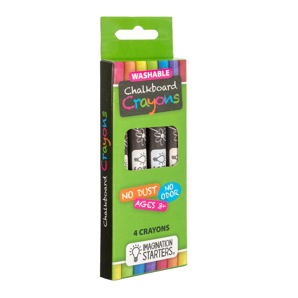 Imagination Starters - Washable Chalkboard Crayon Set of 4