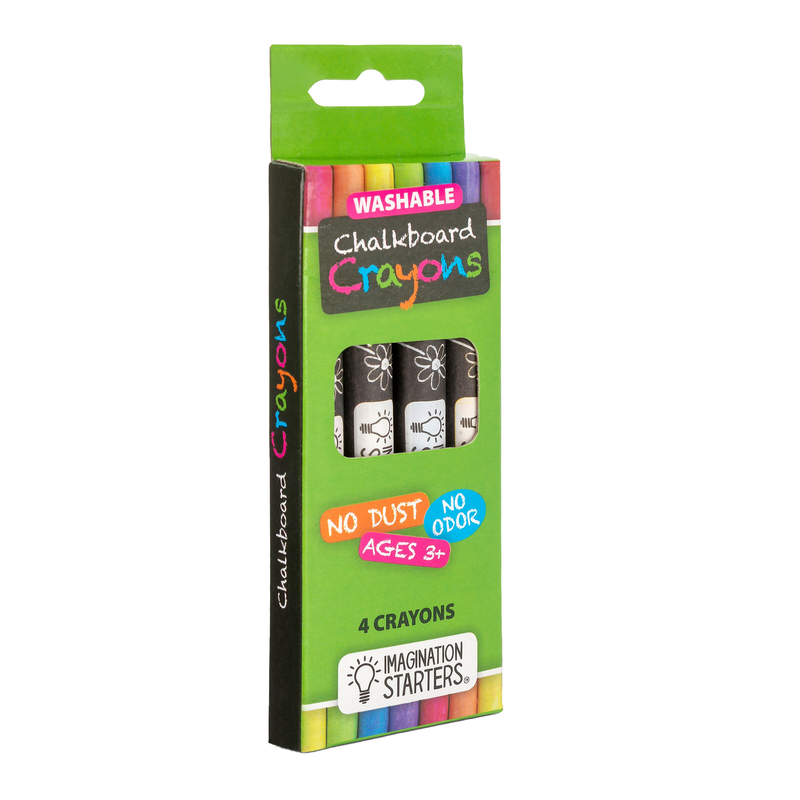 Imagination Starters - Chalkboard Crayon Set of 4