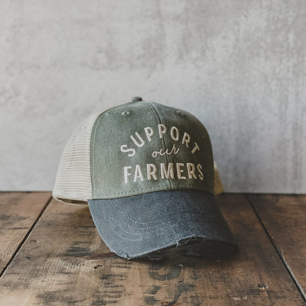 Matted Ink Support Our Farmers Hat