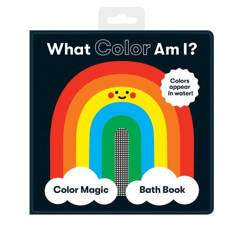 Chronicle Books - What Color Am I? Bath Book