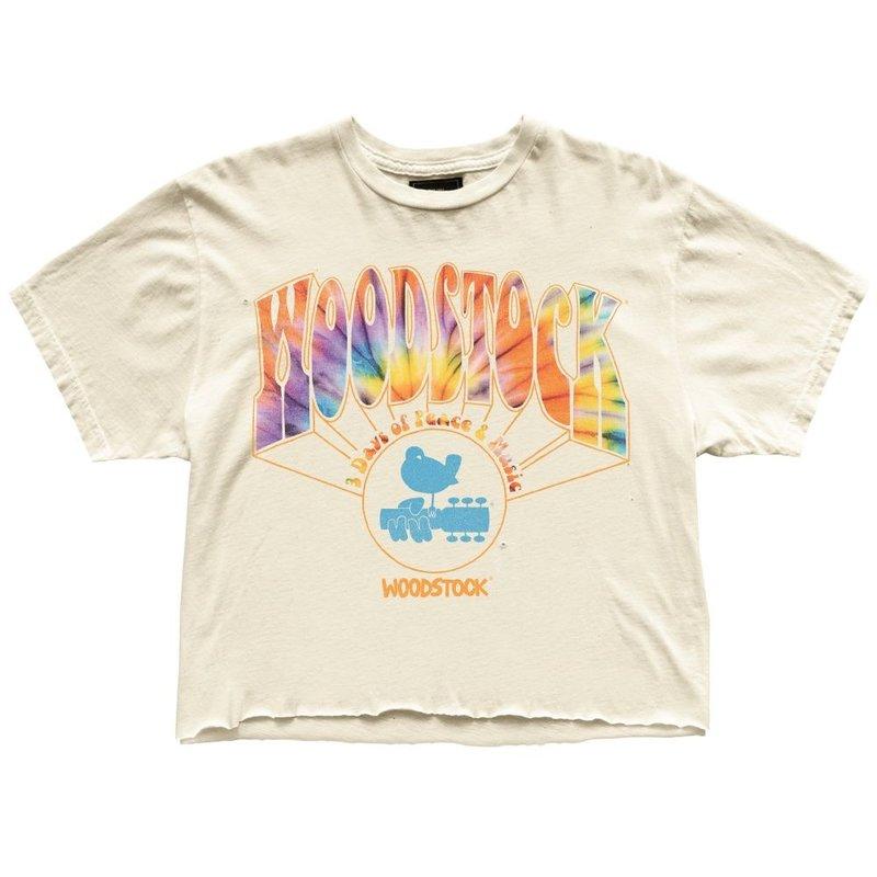 Retro Brand W Woodstock Cutoff Tee
