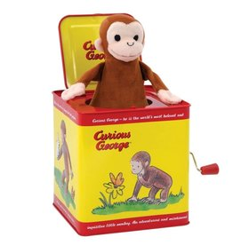 Schylling CURIOUS GEORGE - JACK IN THE BOX