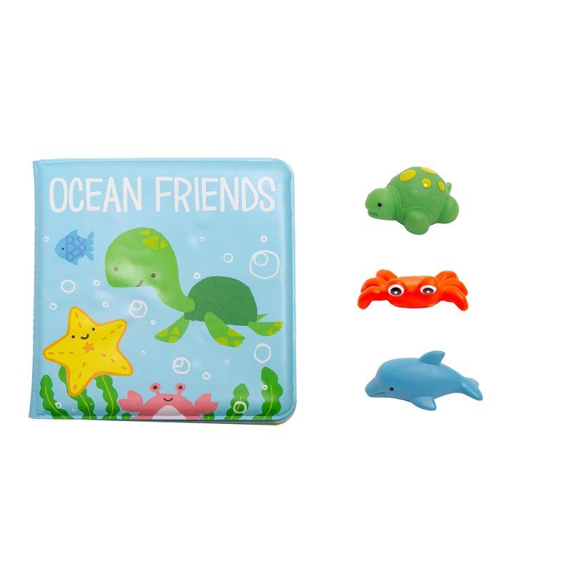 Kate & Milo - Ocean Friends Bath  Set