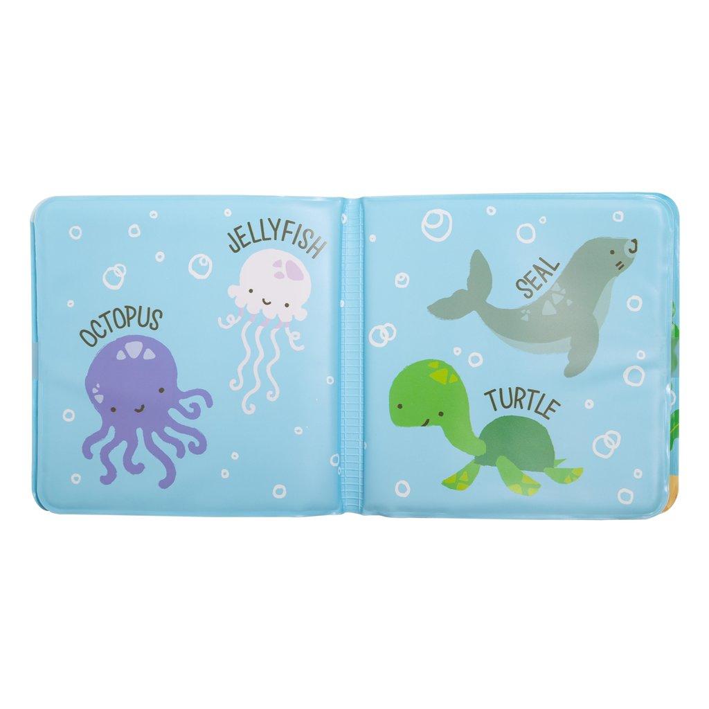 Kate & Milo - Ocean Friends Bath Book & Toy Set