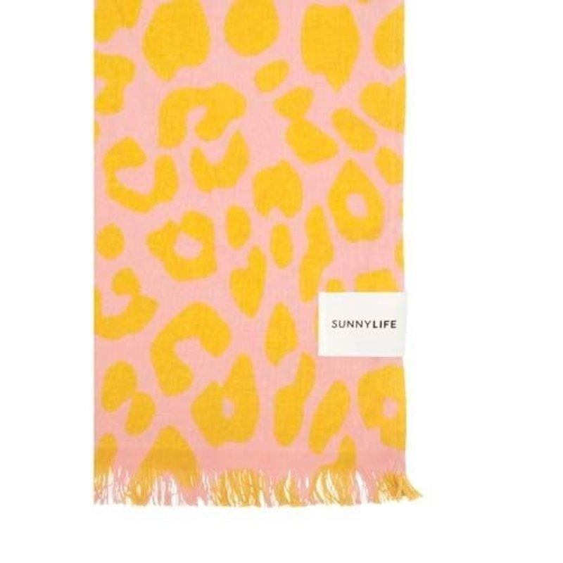 Sunnylife Turkish Towel - PEACHY PINK