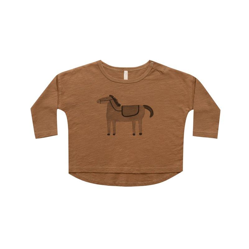 Rylee & Cru Rylee & Cru Baby Horses LS Tee