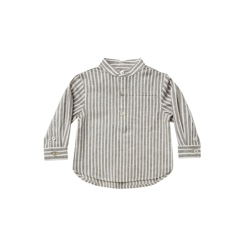 Rylee & Cru Rylee & Cru Boys Railroad Mason Shirt