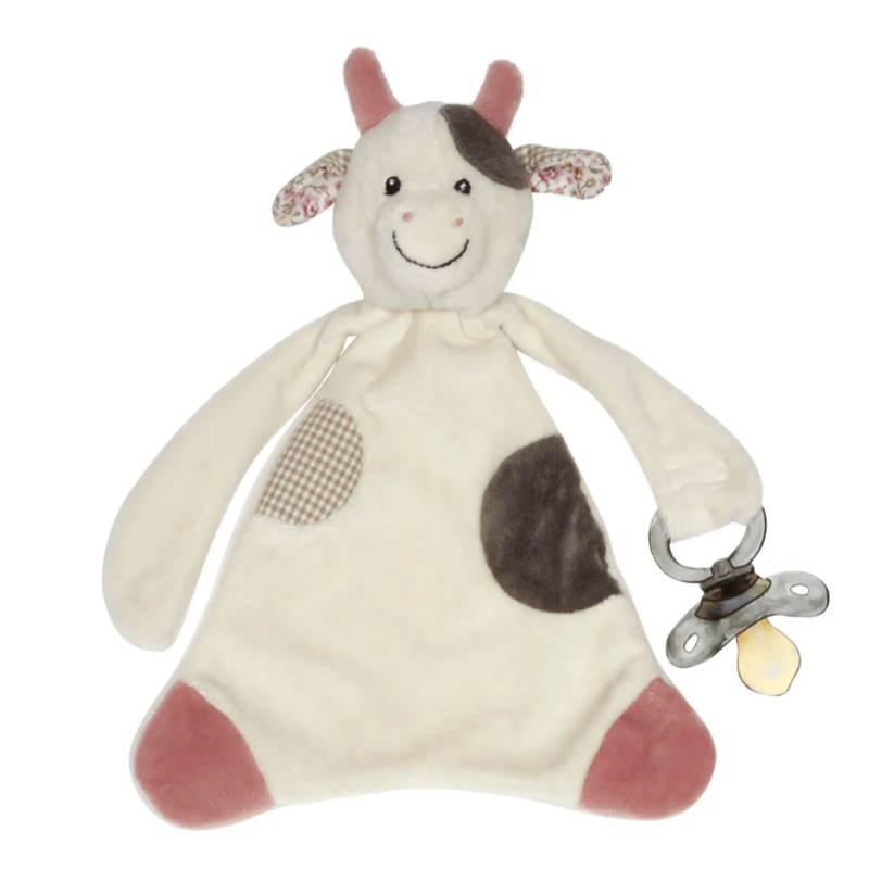 Maison Chic - Cassie the Cow Paci Blankie