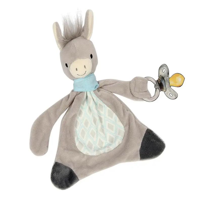 Maison Chic - Dandy the Donkey Paci Blankie