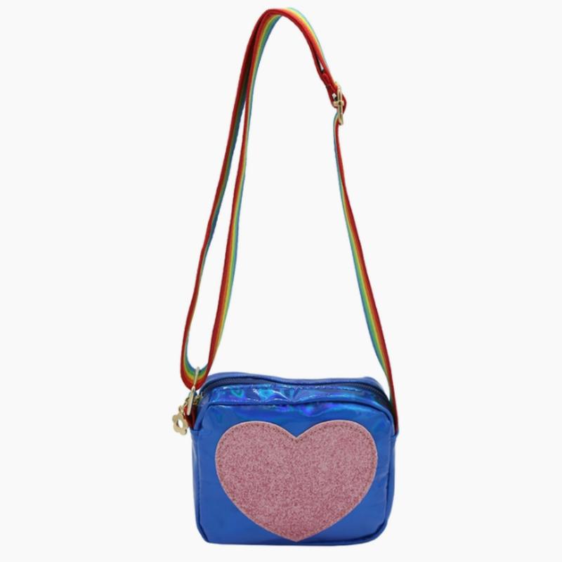Sparkle Sisters - Heart Purse BLUE