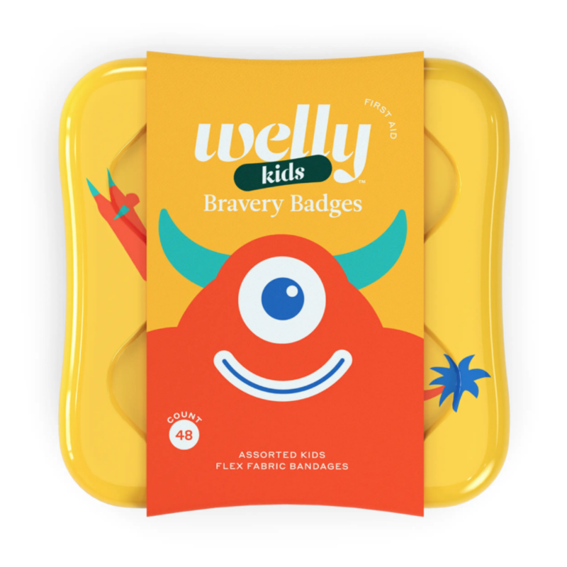 Welly Welly - Bravery Badges MONSTERS