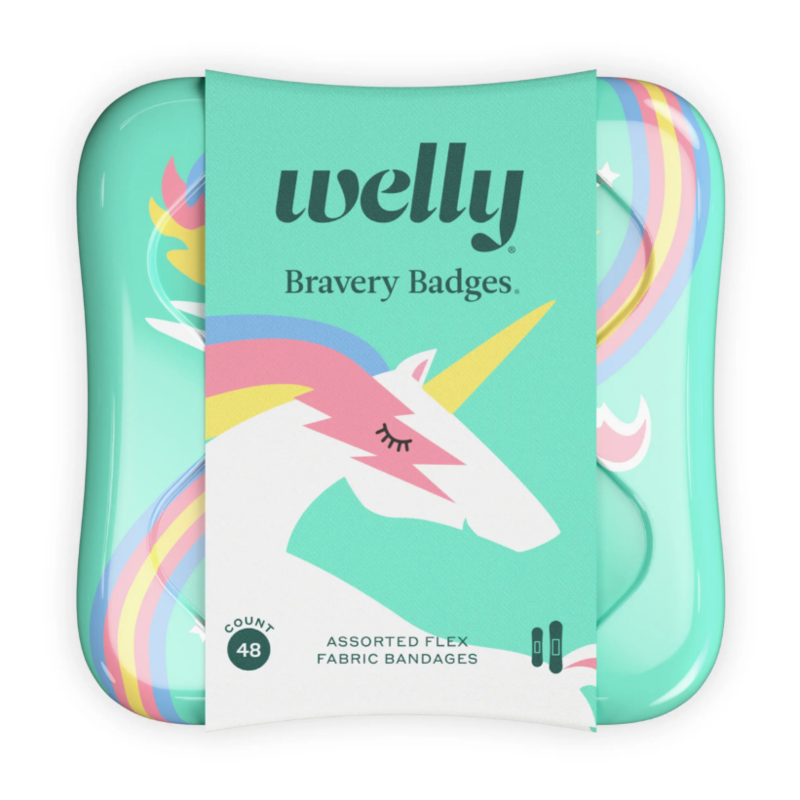 Welly Welly - Bravery Badges RAINBOW