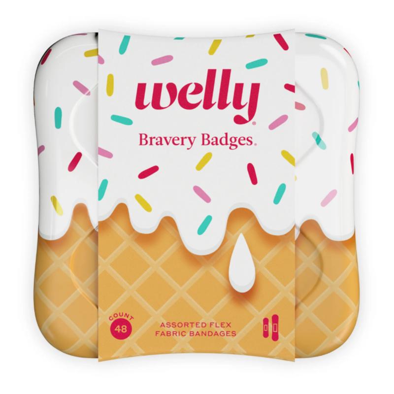 Welly Welly - Bravery Badges ICE CREAM