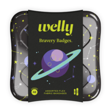 Welly Welly - Bravery Badges SPACE