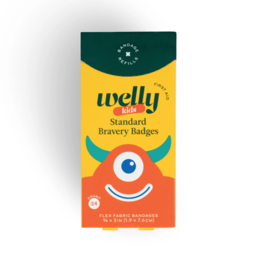 Welly Welly - Bravery Badges Monsters Refill