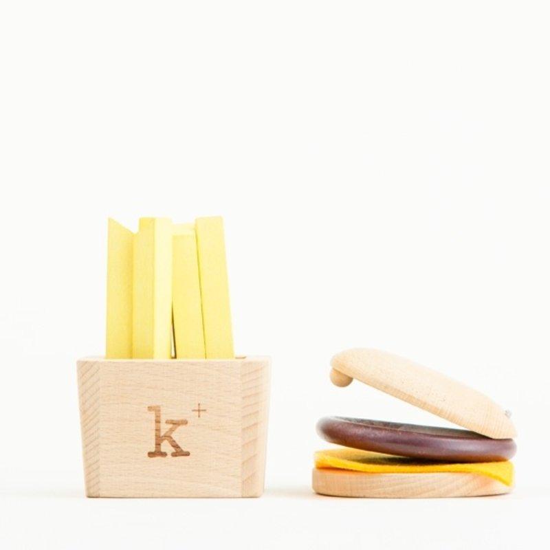 Kiko+ & gg Hamburger Musical Set
