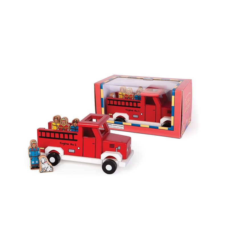 Jack Rabbit - To The Rescue Magnetic Fire Truck