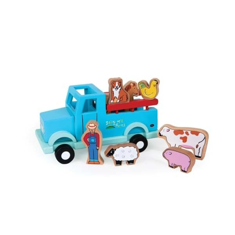 Jack Rabbit - Down on the Farm Magnetic Truck