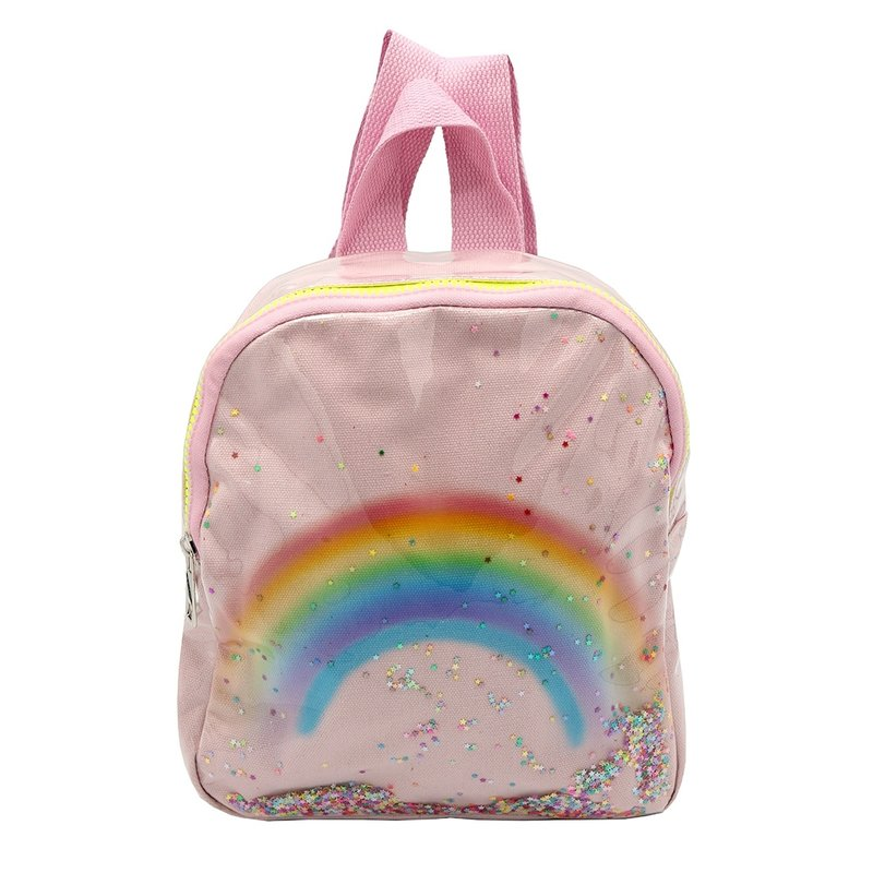 Sparkle Sisters Rainbow Backpack Pink