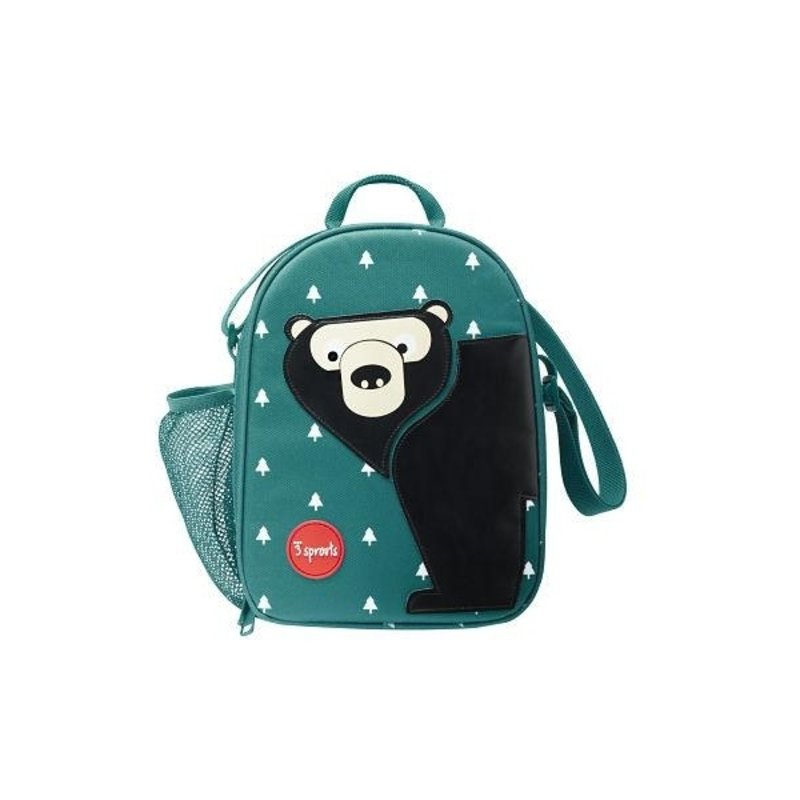 3 Sprouts Bear Lunch Bag