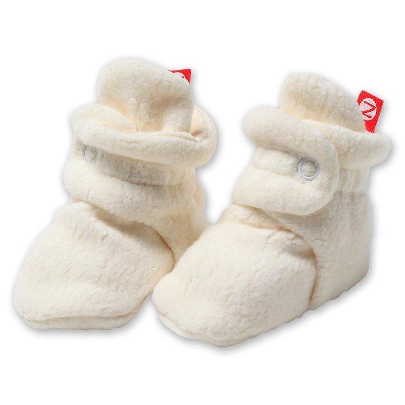 Zutano Zutano Cozie Fleece Booties Cream
