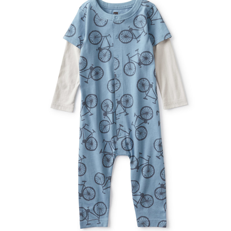 Tea Collection Tea Baby Button-Up Romper