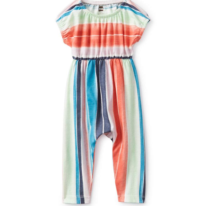 Tea Collection Tea Baby Rainbow Stripe Romper