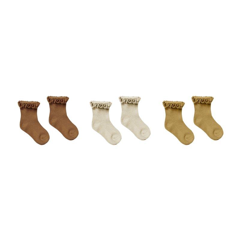 Rylee & Cru Rylee & Cru Toddler Ruffle 3PK Socks