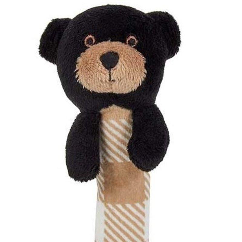 Maison Chic -  Black Bear Stick Rattle
