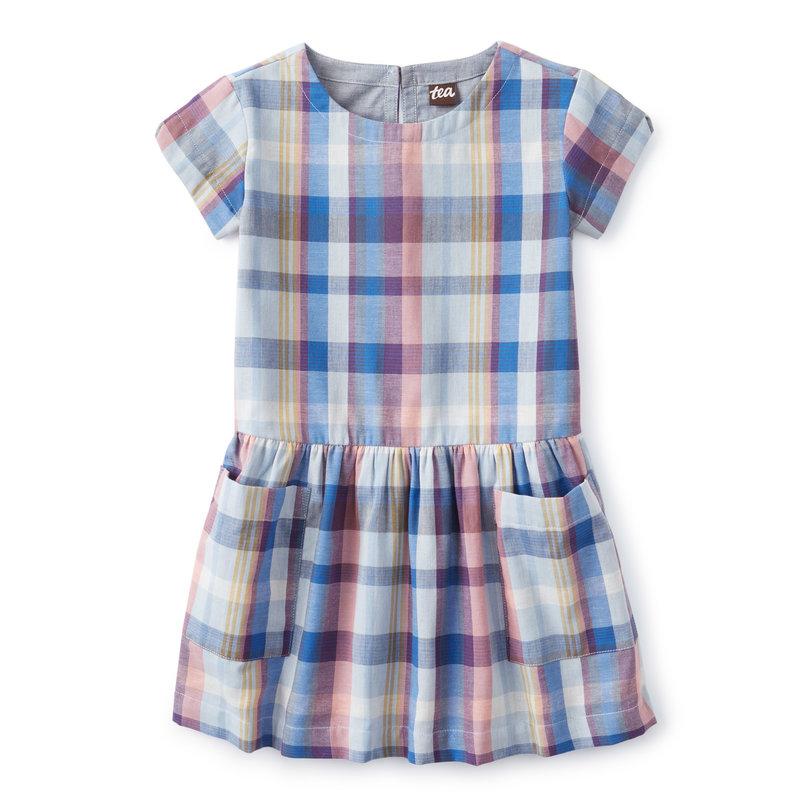 Tea Collection Tea Junior Woven Pocket Dress