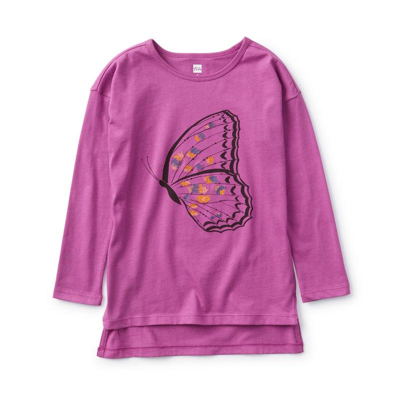 Tea Collection Tea Toddler Butterfly Tunic Tee