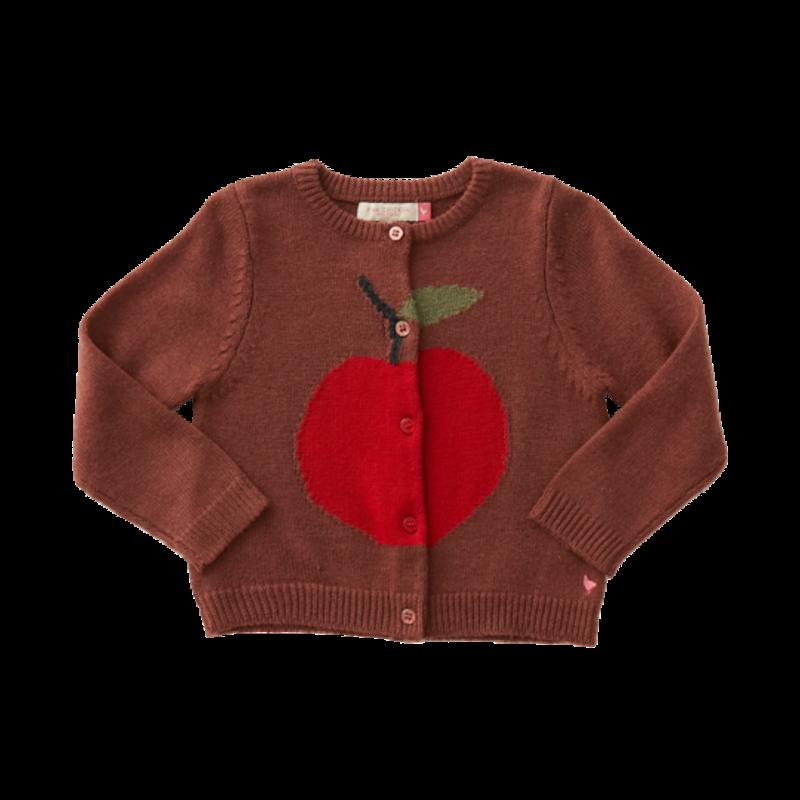 Pink Chicken Pink Chicken Toddler Anna Apple Sweater