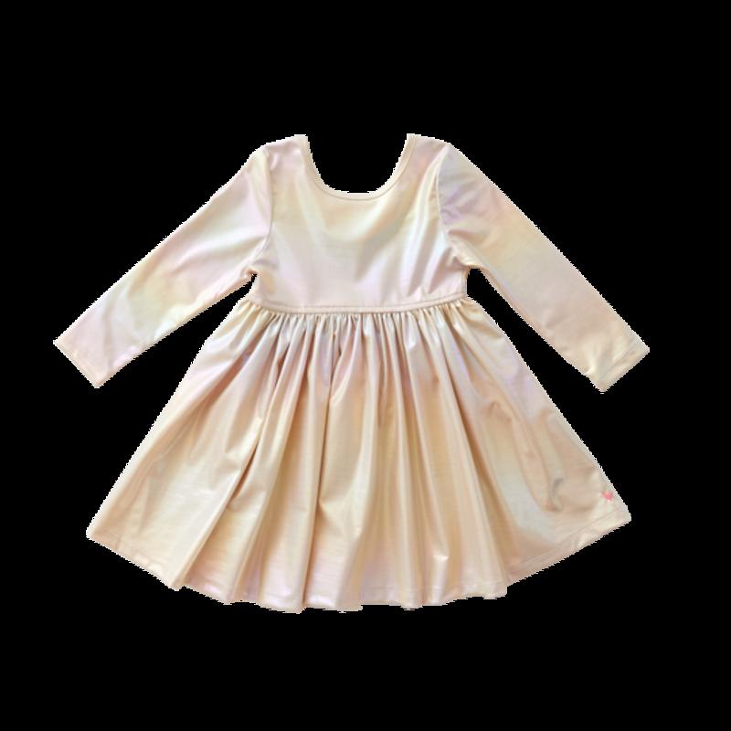 Pink Chicken Pink Chicken Junior Liza Lamé Dress
