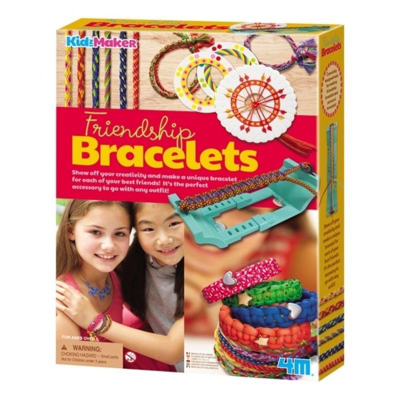Toysmith - 4M Kidzmaker Friendship Bracelet Kit