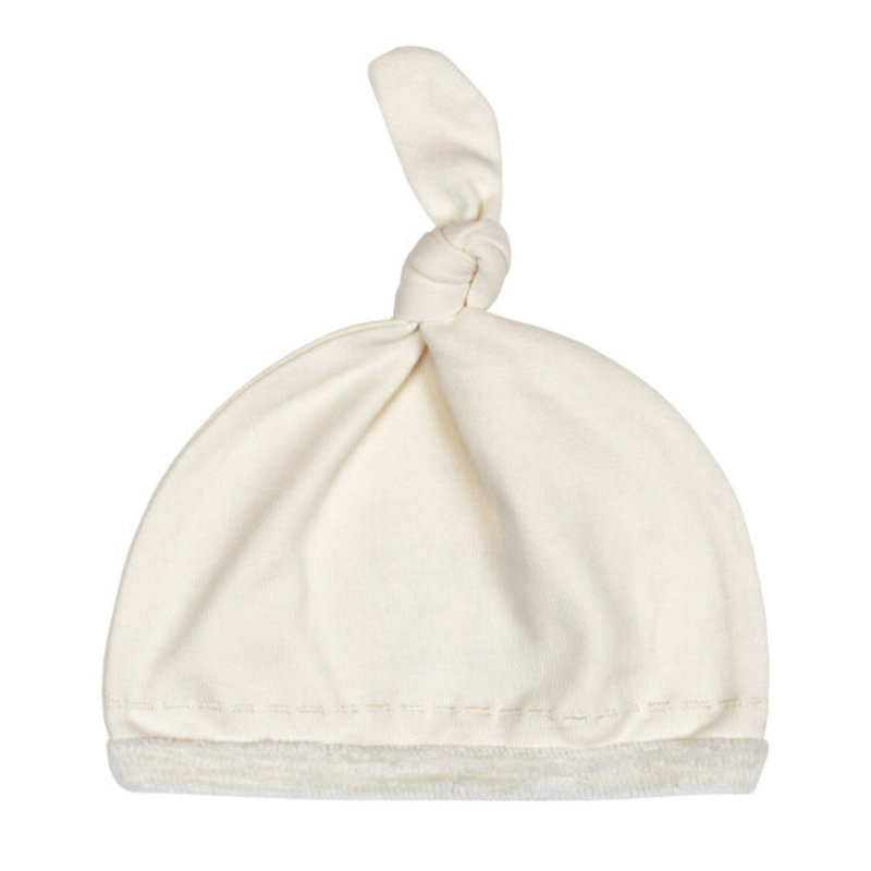 L'ovedbaby L'ovedbaby Velveteen Top-Knot Hat