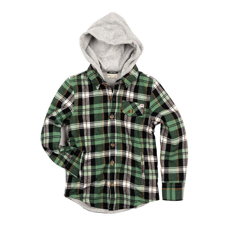 Appaman Appaman Junior Glen Hooded Shirt