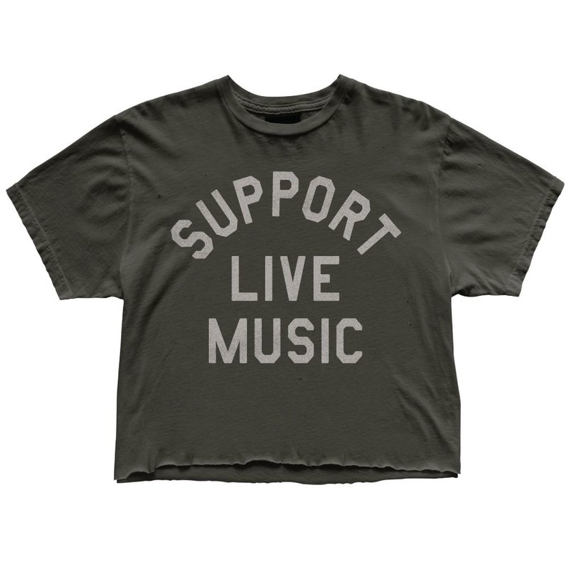 Retro Brand W's Support Live Music Tee