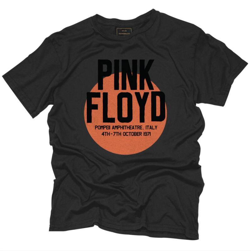 Retro Brand M's Pink Floyd Pompeii Tee