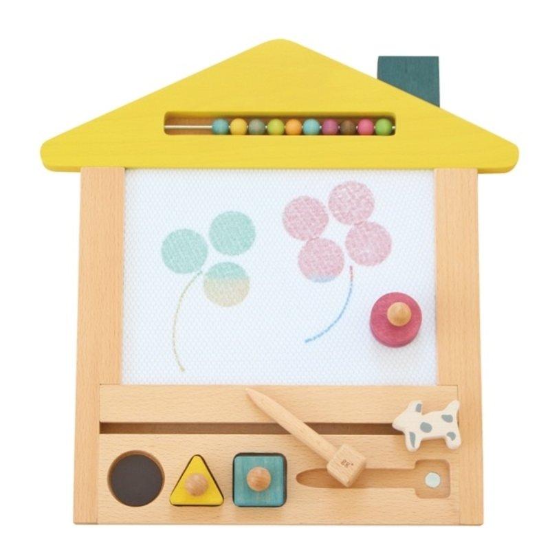 Kiko+ & gg Oekaki Magic Drawing Board - YELLOW