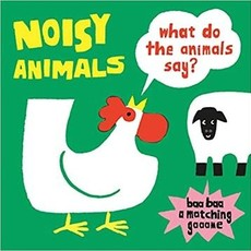 Chronicle Books Noisy Animals - A Matching Game