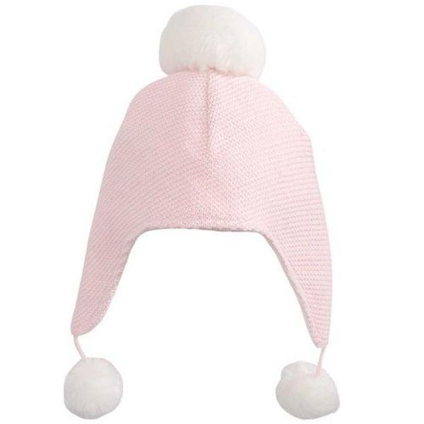 Elegant Baby Elegant Baby Aviator Hat Pom