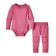 Patagonia Patagonia Infant Capilene Set - Size: 18 Months