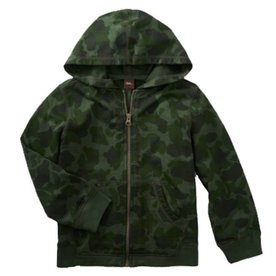 Tea Collection Tea Camo Zip Hoodie