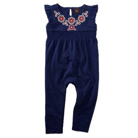 Tea Collection Tea Embroidered Romper
