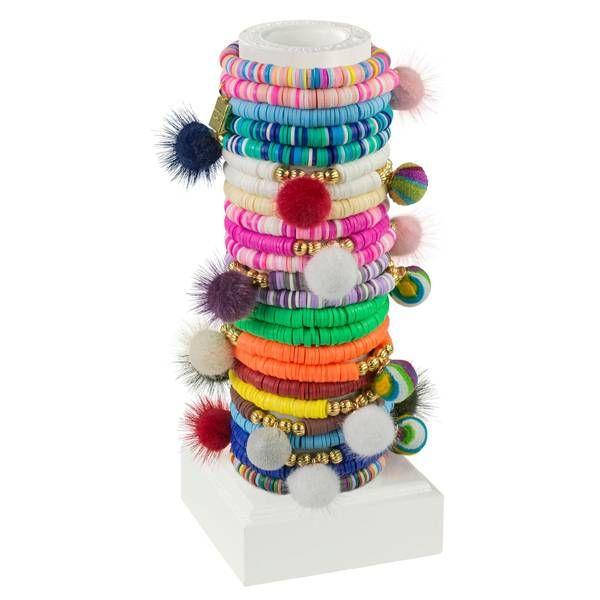 Little Miss Zoe Little Miss Zoe Sea Charm & Pom Pom Bracelets