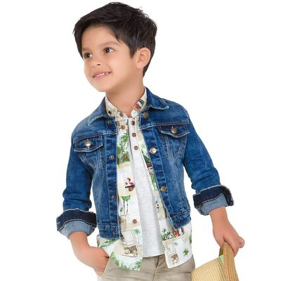 Mayoral Basic Kids Jean Jacket