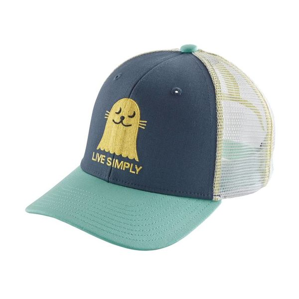 Patagonia Kids Trucker Hat - Yellow Turtle be14356ea5e